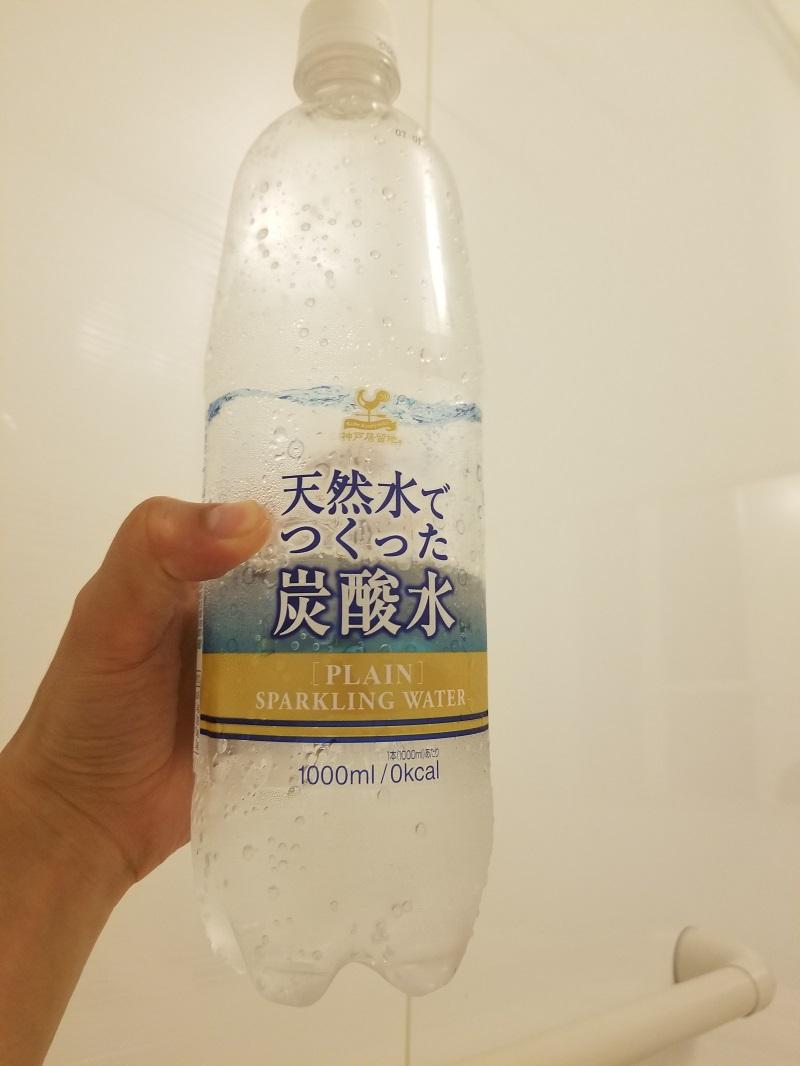炭酸水 1L